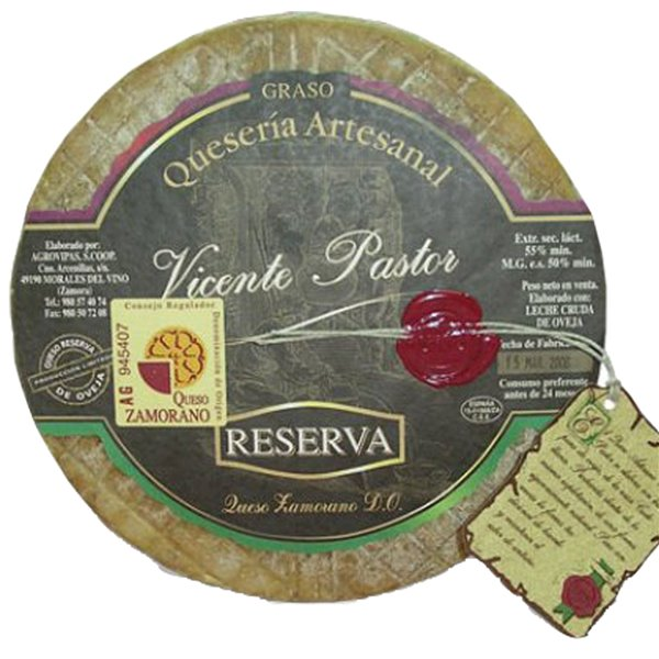 Queso de Oveja RESERVA VICENTE PASTOR 2,9 Kg