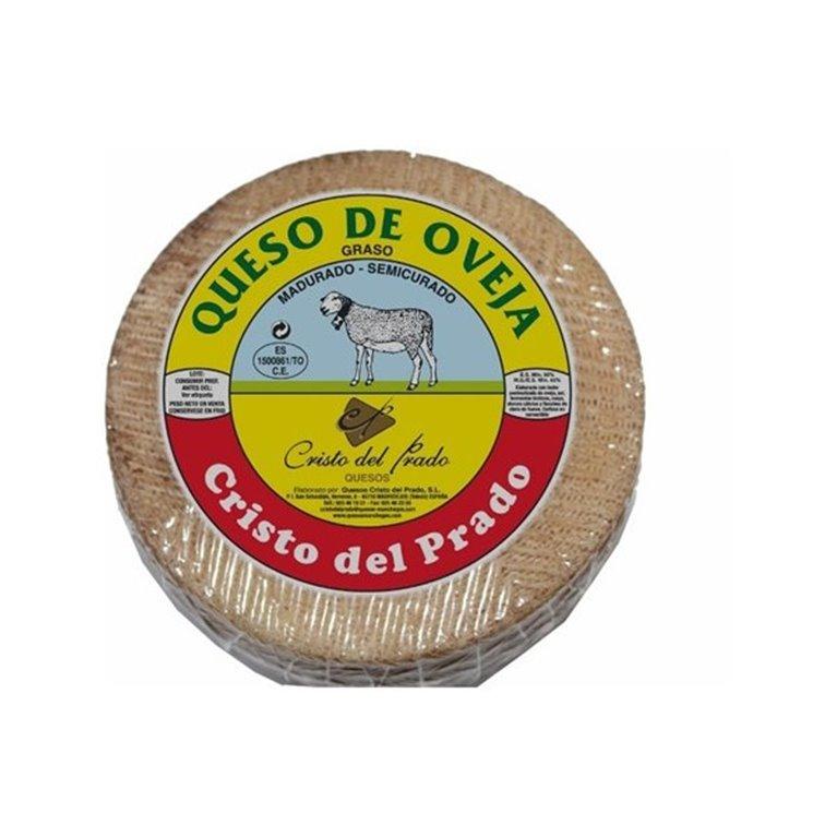 Queso de oveja semicurado Cristo del Prado, 1 kg