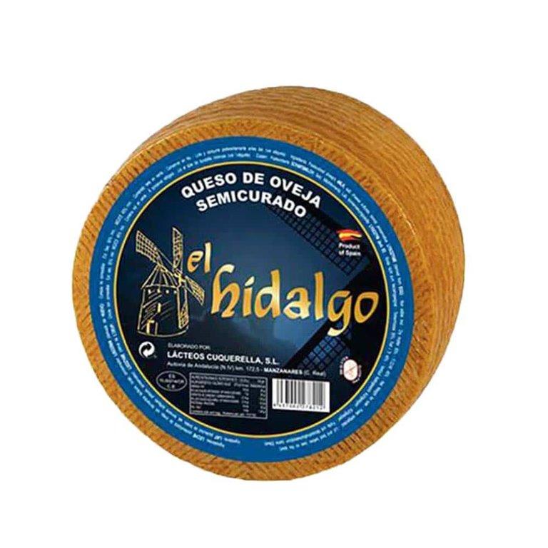 Semi-cured sheep cheese El Hidalgo 1Kg