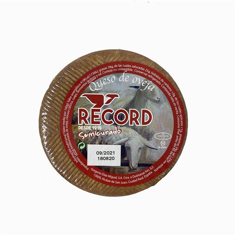 Queso de oveja semicurado Record 1 Kg