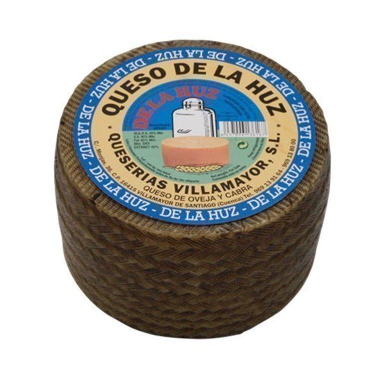 Queso de Oveja y Cabra De La Huz Semicurado Mediano, 1 ud