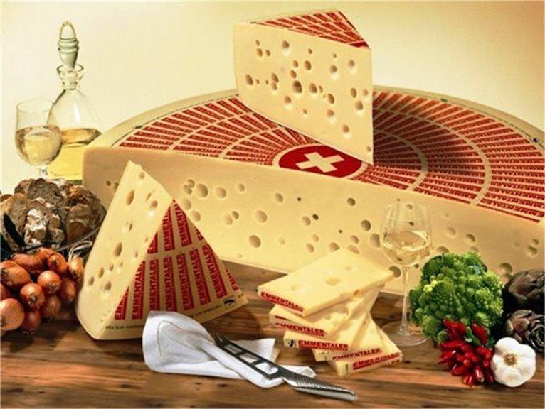 Swiss Emmental Cheese 400 gr
