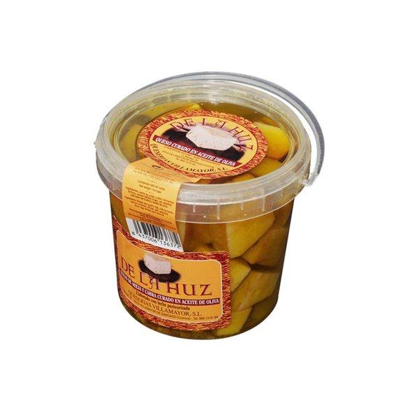 Queso en Aceite de Oliva De La Huz Tarro Mini
