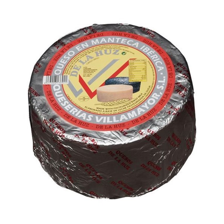 Queso en Manteca De La Huz Leche Pasteurizada Mediano, 1 ud