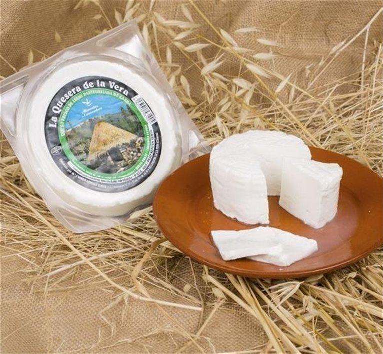 Queso fresco Cabra de La Vera, 750 gr