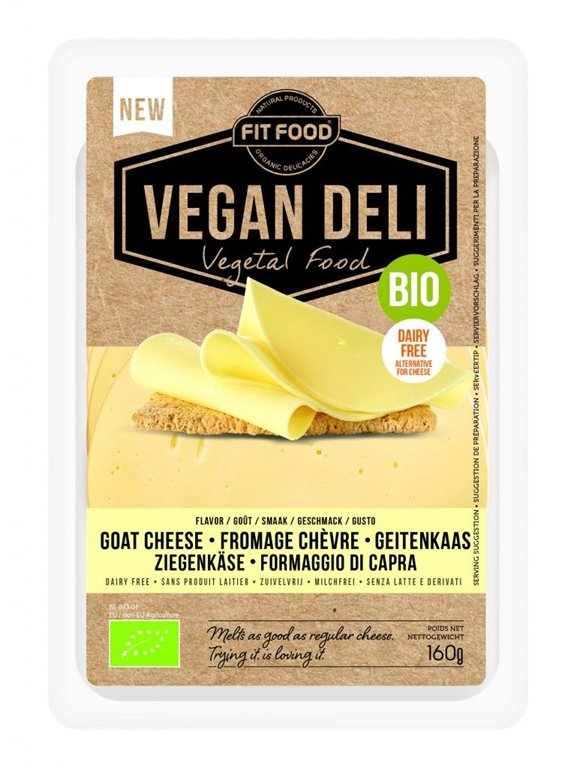 Queso goat Cheese Vegan Deli, 1 ud