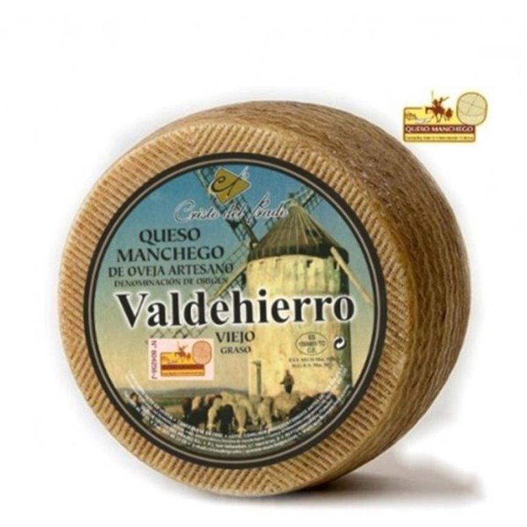 Queso manchego de oveja artesano Valdehierro, 1 kg
