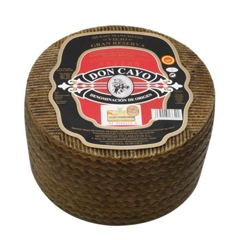 Queso Manchego DOP Don Cayo Viejo Grande, 1 ud