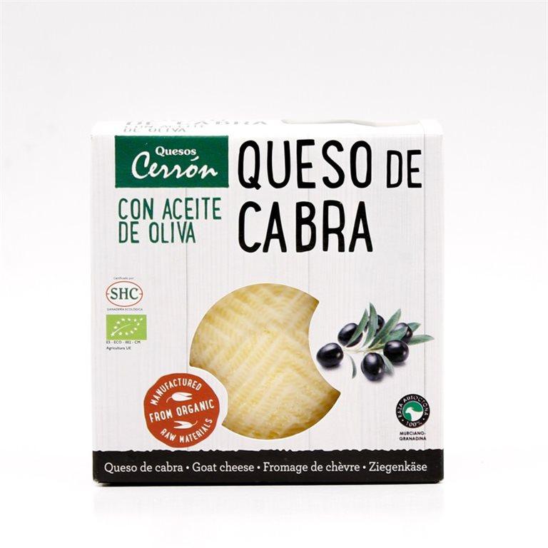 Queso mini de cabra con aceite de oliva