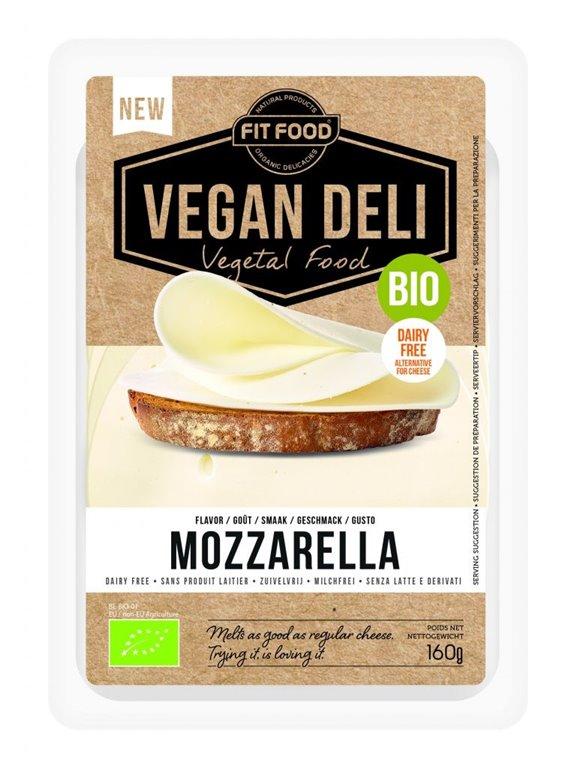 Queso Mozzarella Vegan Deli, 1 ud