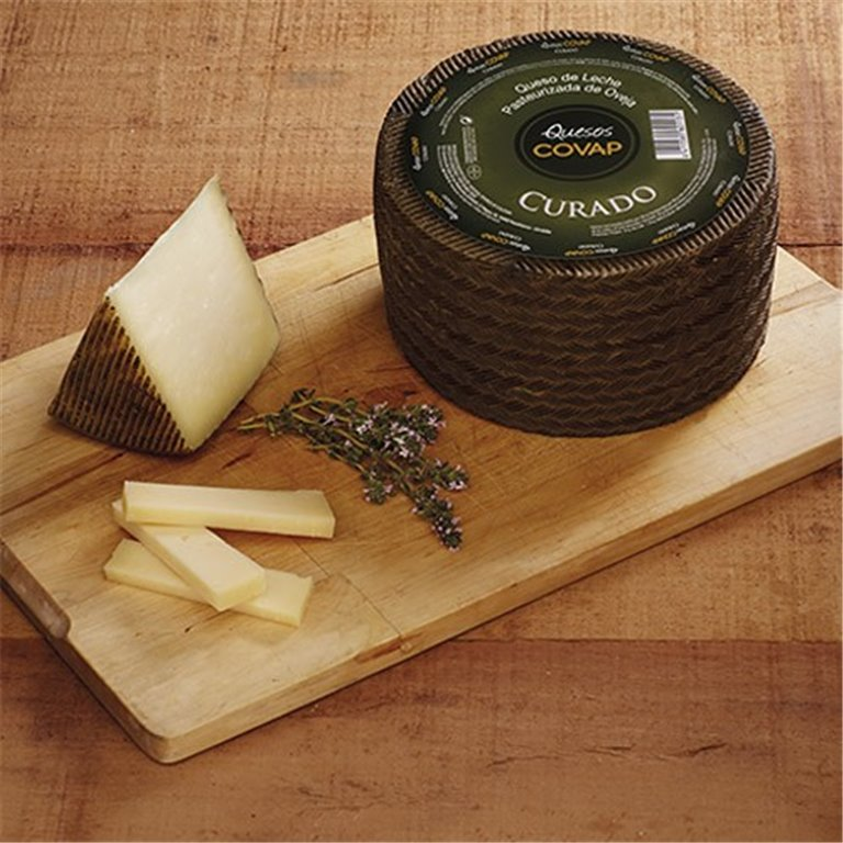 COVAP Cured Sheep Cheese (800 gr.)