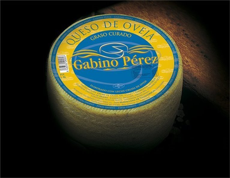 Queso Oveja Semicurado Gabino Perez