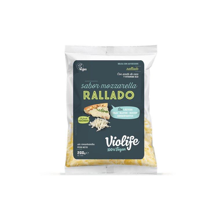 Queso Rallado Vegano Sabor Mozzarella, 1 ud
