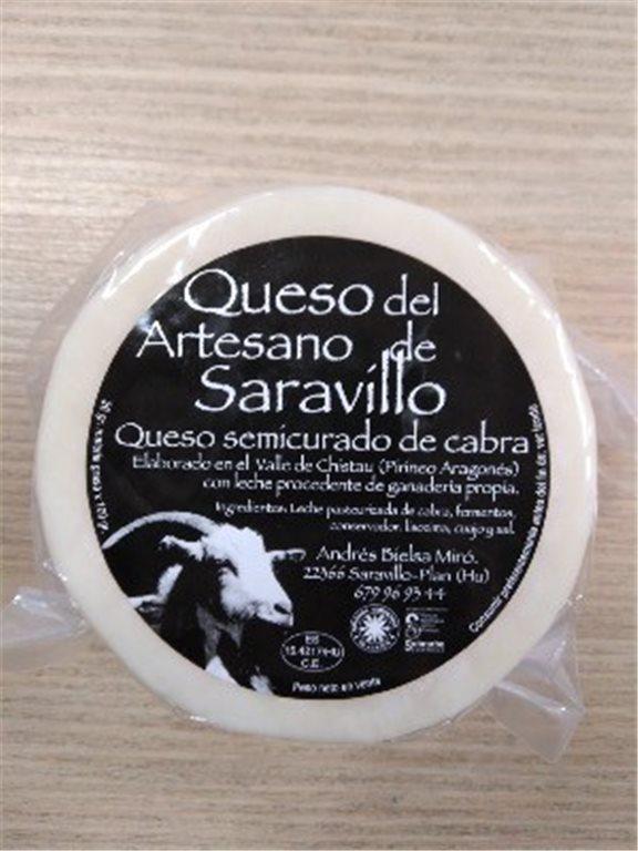 Queso Saravillo Cabra Semicurado