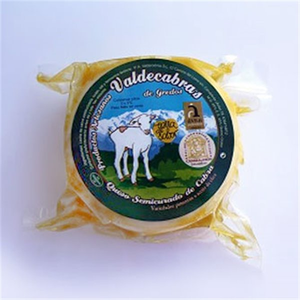 Queso semicurado de cabra en aceite de oliva virgen extra, Valdecabras