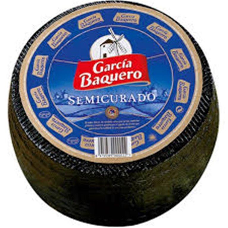 Queso semicurado García Baquero