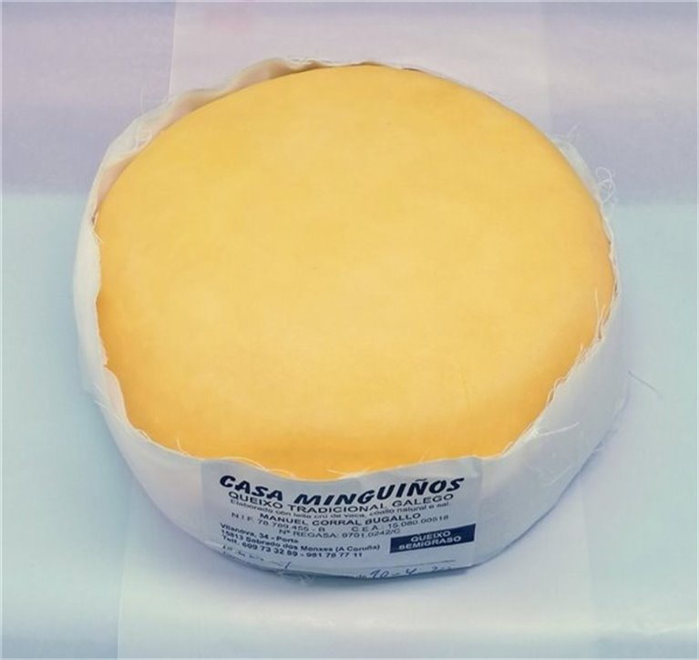 Traditional Galician Cheese