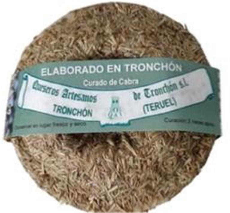 Queso Tronchon Cabra Semicurado Romero, 1 ud