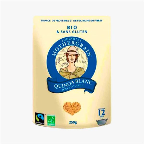 Quinoa Blanc 250g MotherGrain