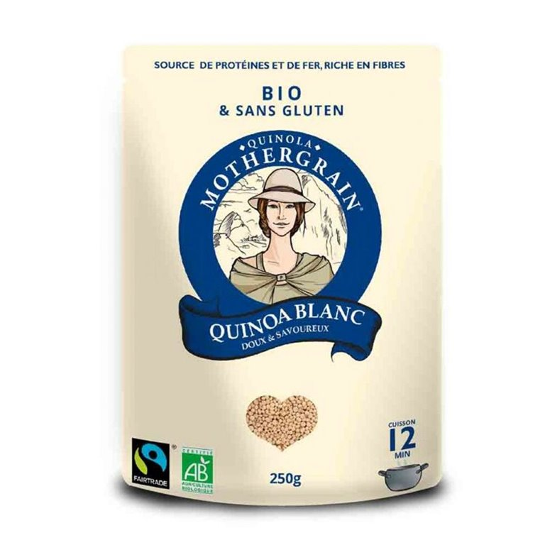 Quinoa Blanca Bio 250gr. Quinola. 8un, 1 ud