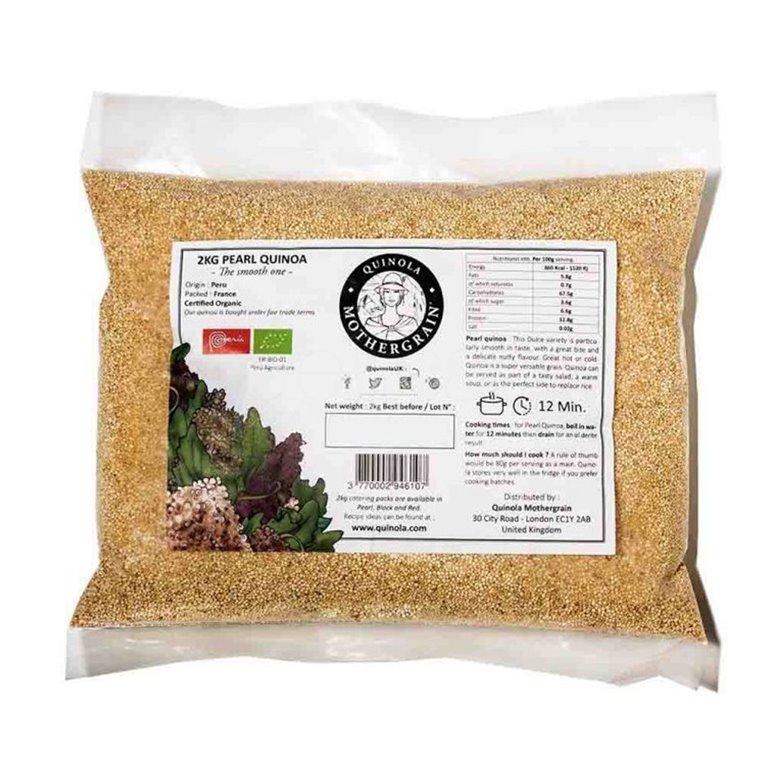 Quinoa Blanca Bio Granel 2kg. Quinola. 3un, 1 ud