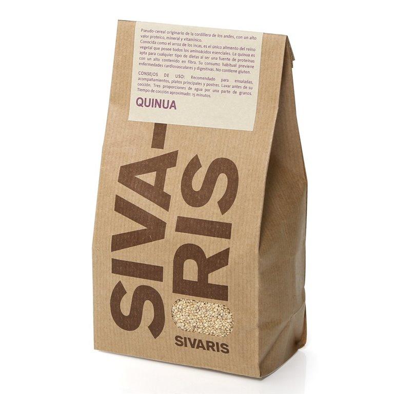 Quinoa Blanca (papel kraft) 400gr. Sivaris. 6un., 1 ud