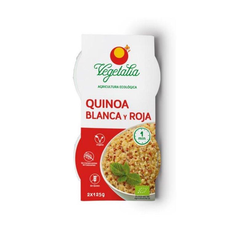 Quinoa blanca y roja