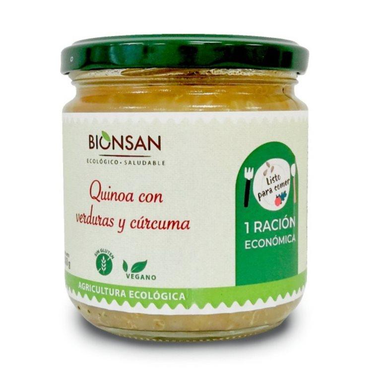 Quinoa con verduras y cúrcuma ecológica -280gr