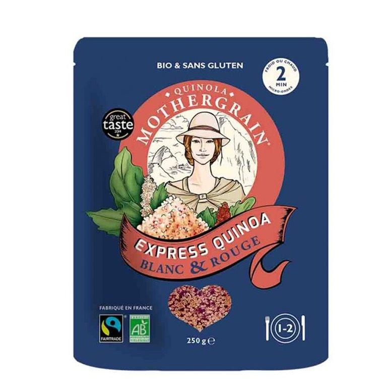 Quinoa Express (Blanca y Roja) Bio 250gr. Quinola. 6un, 1 ud