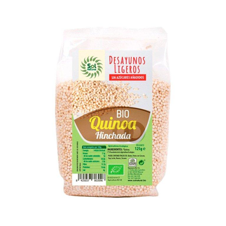 Quinoa hinchada, 125 gr