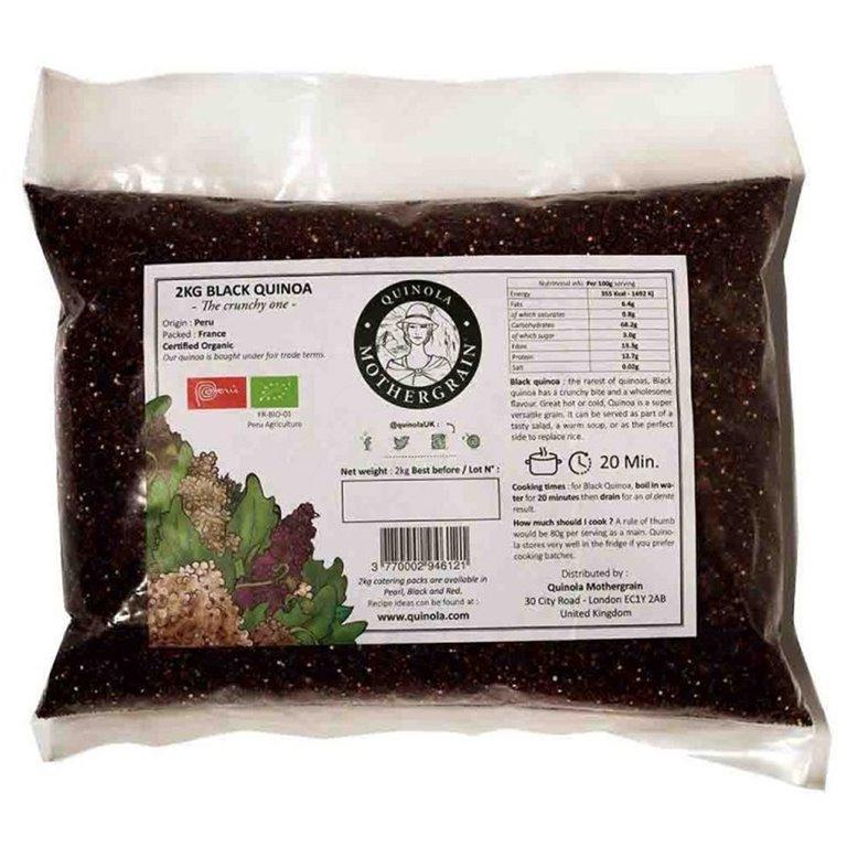 Quinoa Negra Bio Granel 2kg. Quinola. 3un, 1 ud