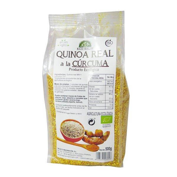 Quinoa Real a la Cúrcuma Grano Bio 500g