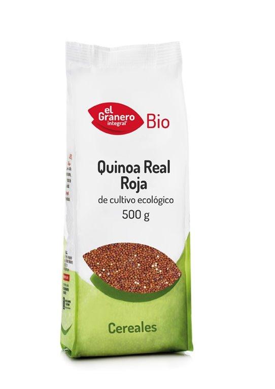 Quinoa Real Roja Grano Bio 500g
