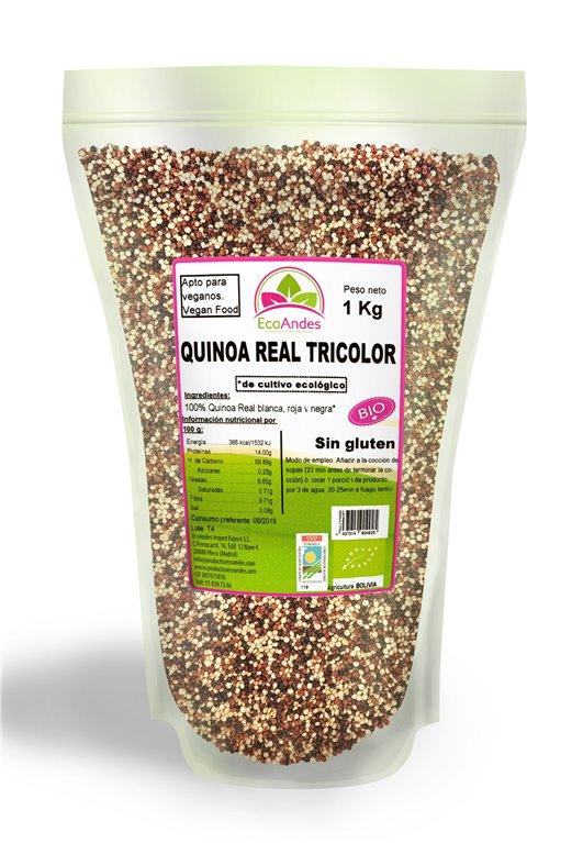 Quinoa Real Tricolor Bio 10kg, 1 ud