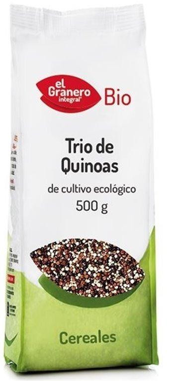 Quinoa Real Tricolor Bio 500g