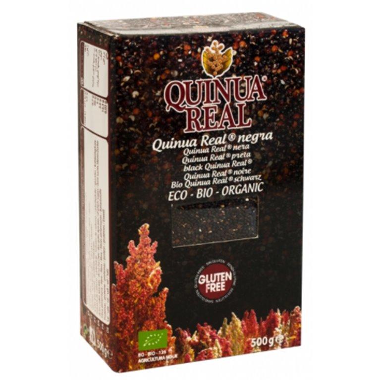 Grano de Quinoa Real Negra Bio Fairtrade 500g