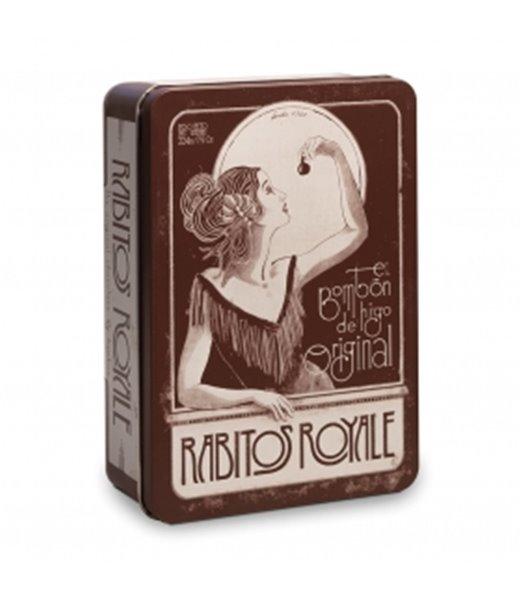 Rabitos Royale Lata Vintage 248gr. Rabitos Royale. 6un.