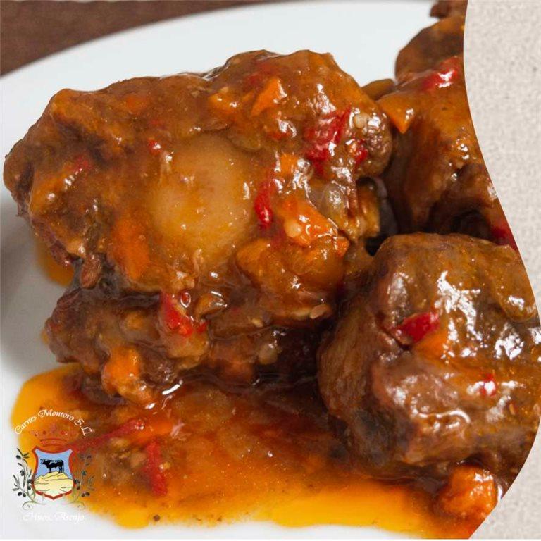 Rabo de toro en salsa cordobesa