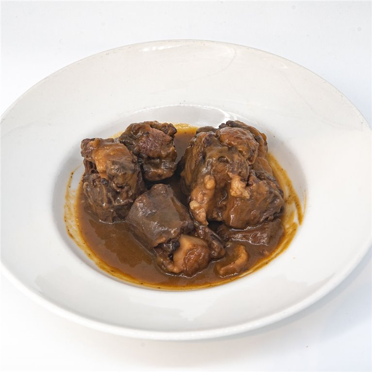 Beef tail stew