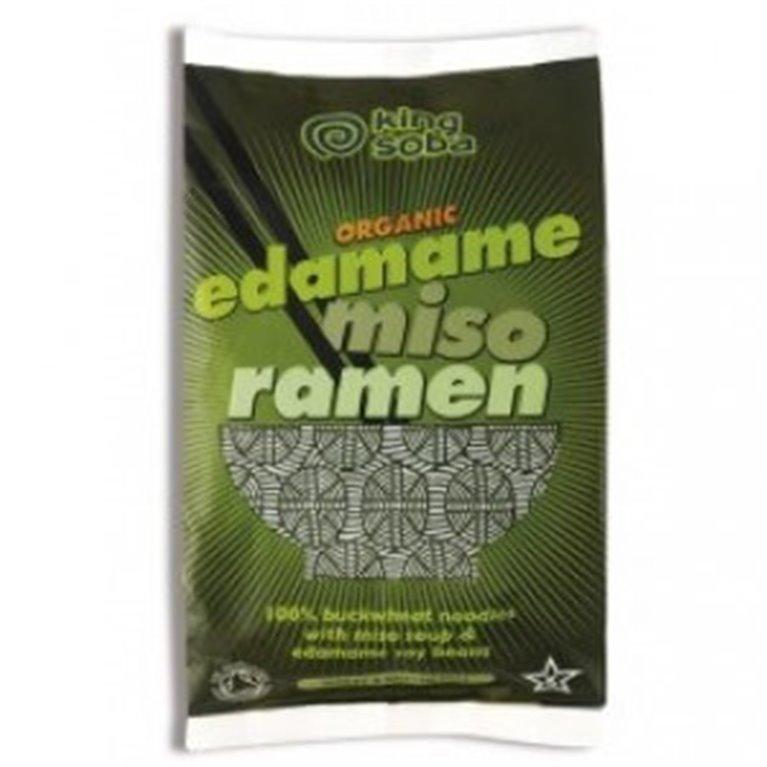 Ramen  trigo sarraceno conmiso y habas soja, 80 gr