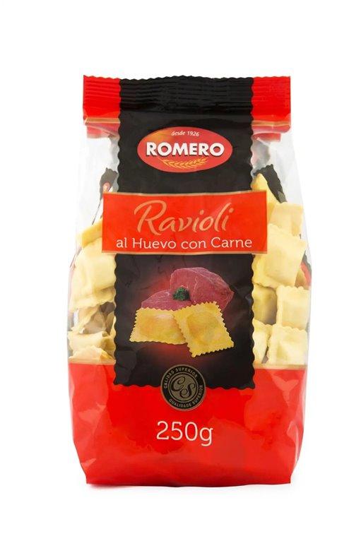Ravioli con carne Pastas Romero