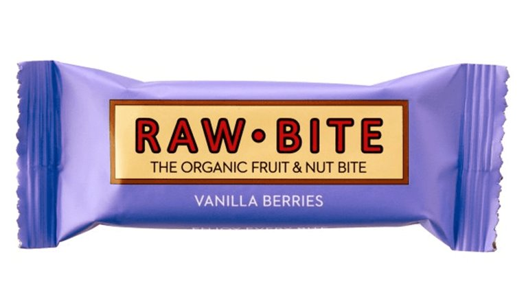 Raw-Bite vainilla y frutos bosque, 30 gr