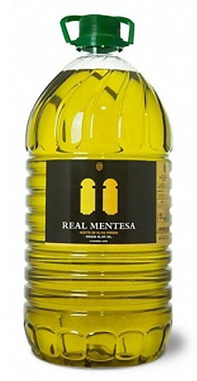 Real Mentesa. Aceite de oliva virgen Picual.