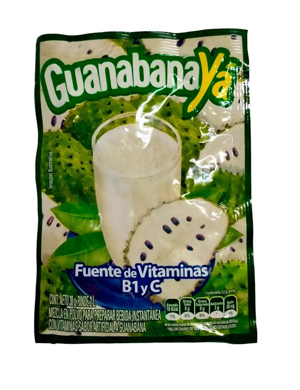 REFRESCO GUANABANAYA X 30GR