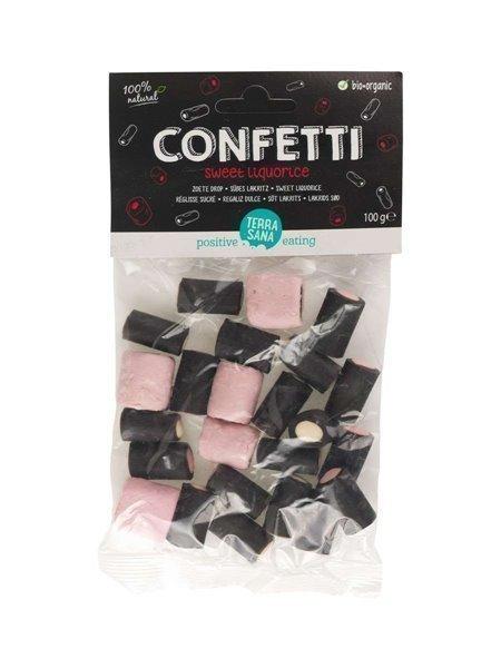Regaliz dulce confetti