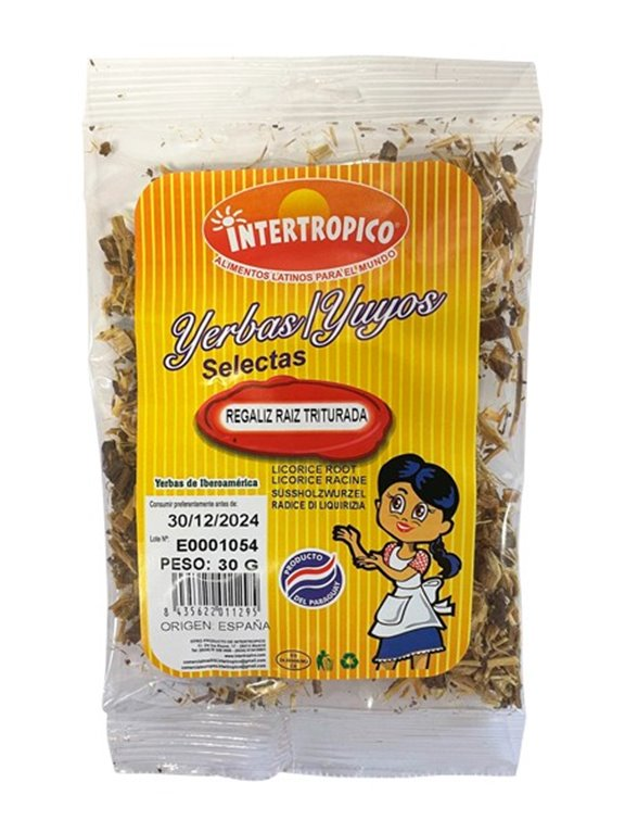 LIQUORICE.CRUSHED ROOT INTERTROPICAL 30 G