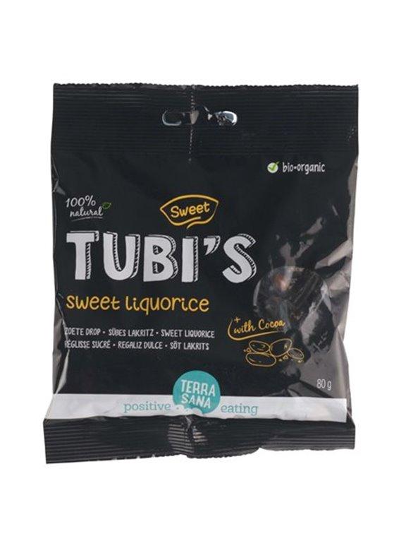 Regaliz Tubis Con Cacao