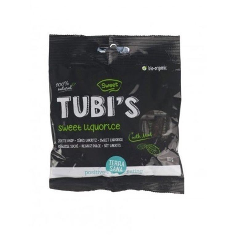Regaliz Tubis Con Menta