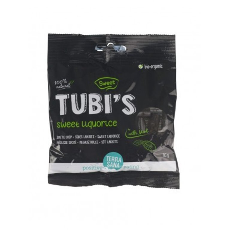 Regaliz Tubis Con Menta, 1 ud