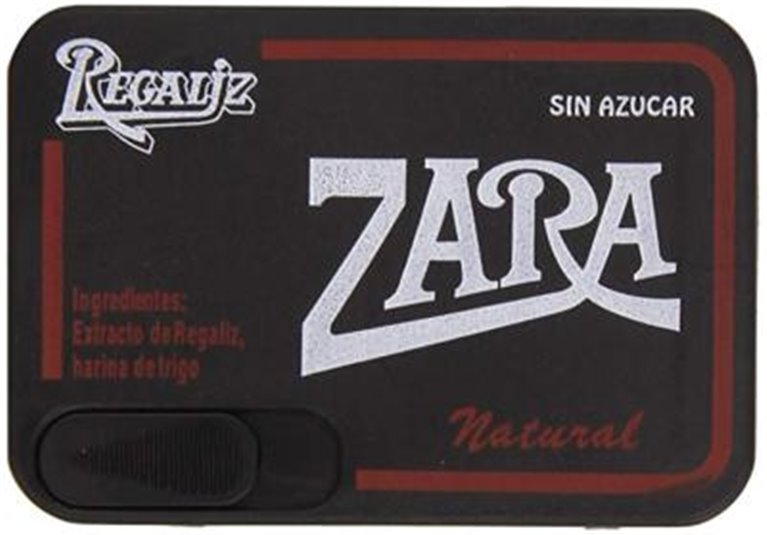 Regaliz Zara cajita, 1 ud